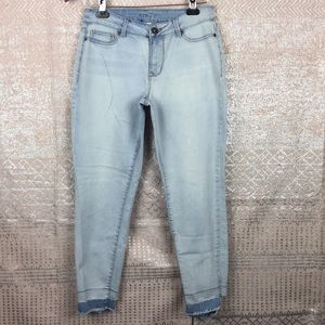 Maurice's skinny light wash jeans
